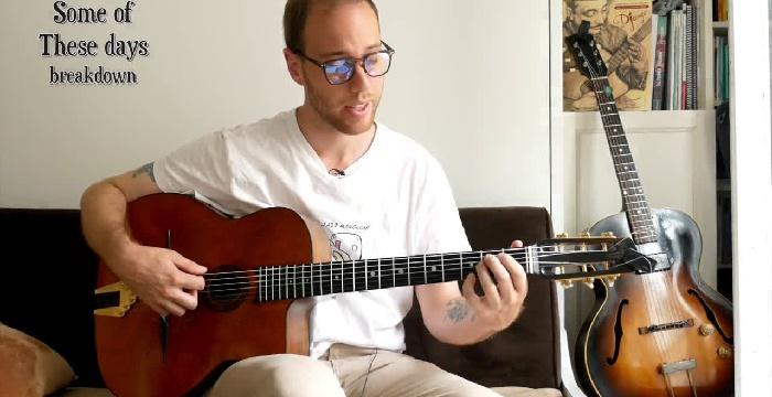 Intro to Gypsy Jazz Chord Melody | Soundslice