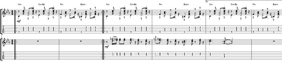 """Gonzalo Bergara """"Porteña Soledad"""" transcriptions   Soundslice"""